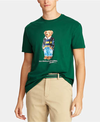 Polo Ralph Lauren Men Classic-Fit Polo Bear T-Shirt