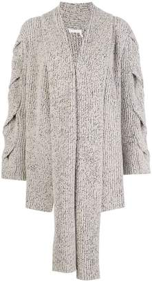 See by Chloe draped scarf detail cardigan