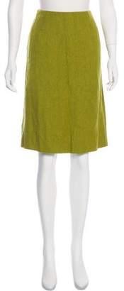 Valentino Knee-Length Pleated Skirt