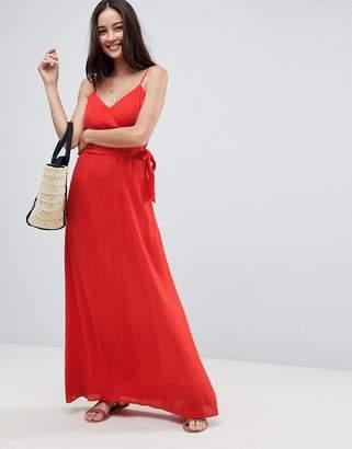 Asos DESIGN Wrap Maxi Dress