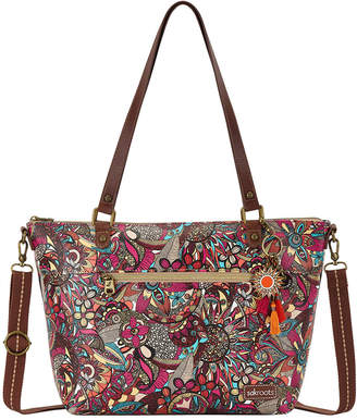 The Sak Artist Circle Double Handle Tote Bag 108148BERSD