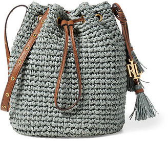 Ralph Lauren Straw Janice Bag $128 thestylecure.com