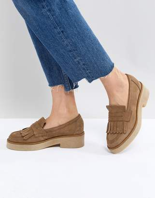 Asos MAZE Suede Flat Shoes