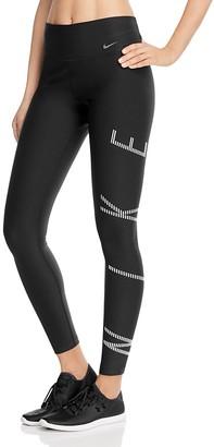 Nike Power Legend Graphic Leggings $75 thestylecure.com