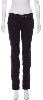Balmain Straight-Leg Low-Rise Jeans