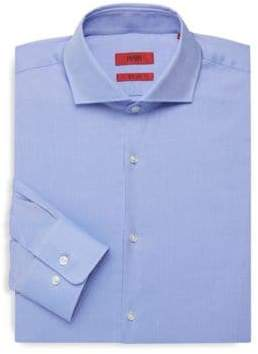 3acae17ac HUGO BOSS Sharp-Fit Textured Dress Shirt