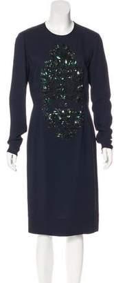 Stella McCartney Embellished Sheath Dress w/ Tags