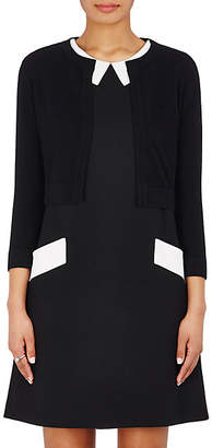 Lisa Perry Women's Cashmere Crop Cardigan Sweater - Black