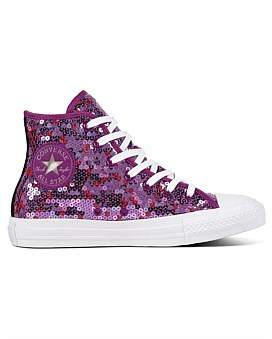 Converse Ct All Star Sequined - Hi Sneaker