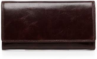 Vicenzo Leather Pelomas Distressed Leather Wallet