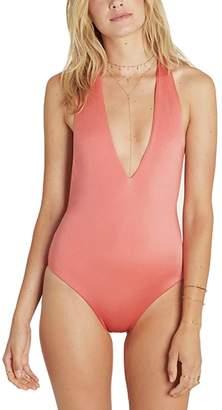 Billabong Sol Searcher Deep V One-Piece Swimsuit - Women's