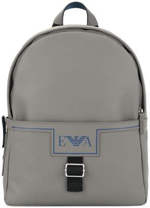 c58c13553 Emporio Armani Gray Men's Backpacks - ShopStyle