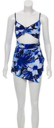 Michael Kors Floral One-Piece Swimsuit