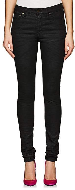 Women's Coated Skinny Jeans