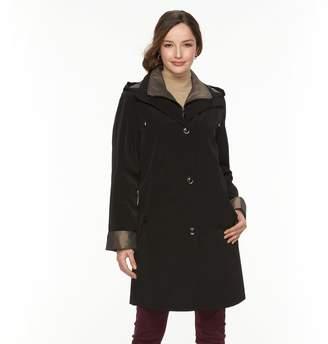 Gallery Women's Hooded Lined Rain Jacket