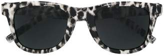 Saint Laurent Eyewear leopard sunglasses