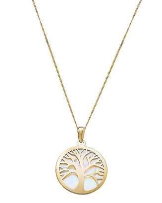 Fantasie 9 Carat Gold Tree of Life Pendant