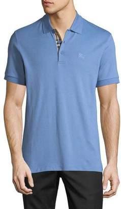 33a180b4839 Burberry Men s Hartford Check-Facing Polo Shirt