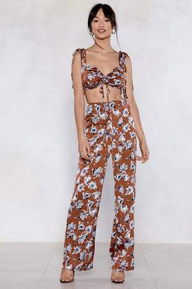 Nasty Gal Grow After What You Want Floral Pants