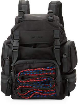 DSQUARED2 Akira Men's Backpack w/ Cording Detail