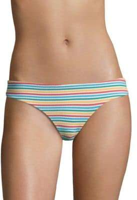 Onia Seersucker Lilly Bikini Bottoms