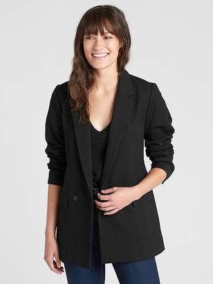 Gap Classic Girlfriend Blazer in Ponte