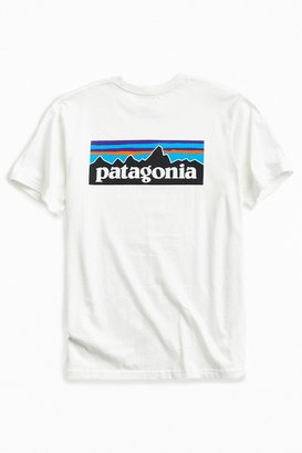 Patagonia P-6 Logo Tee $36 thestylecure.com