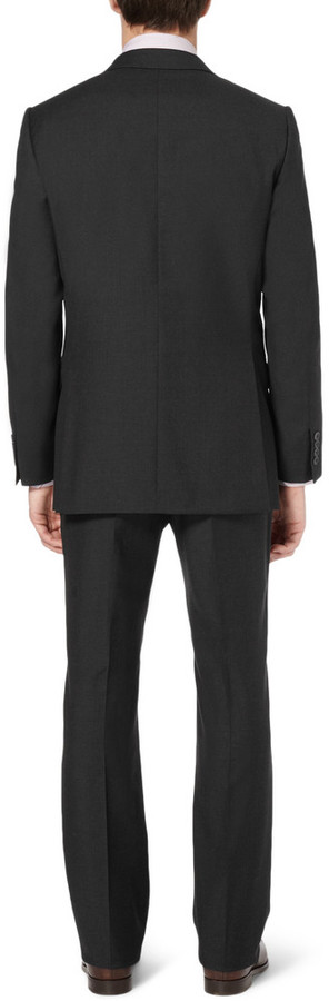 Dunhill Grey Slim-Fit Wool-Twill Suit