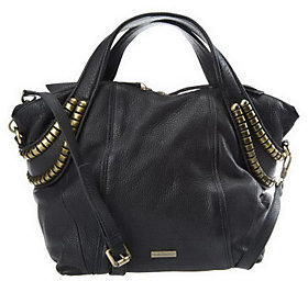 As Is Kelsi Dagger Stellan Pebble Leather Convertible Satchel $110 thestylecure.com