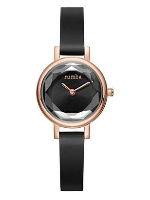 RumbaTime Women's 'Venice' Quartz Stainless Steel and Silicone Casual Watch