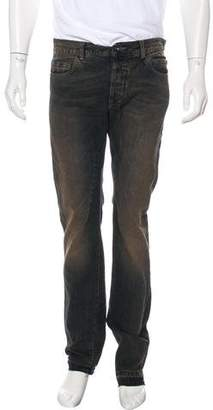 Rick Owens Distressed Slim Jeans