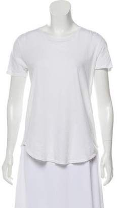 ATM Anthony Thomas Melillo Scoop Neck Short Sleeve Top