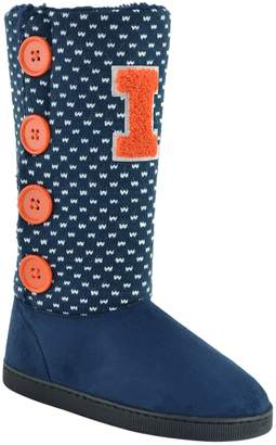 Kohl's Women's Illinois Fighting Illini Button Boots