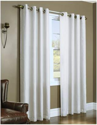 Home Studio Upscale Lined Voile Window Panel