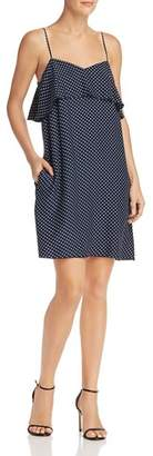 ATM Anthony Thomas Melillo Polka-Dot Silk Dress