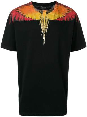 Marcelo Burlon County of Milan wing pattern T-shirt