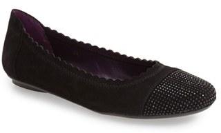 Women's Vaneli 'Bunnie' Sparkle Toe Flat $149.95 thestylecure.com