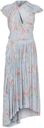 Preen Floral Asymmetric Tessa Dress