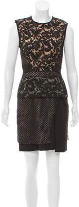J. Mendel Sleeveless Lace Dress w/ Tags