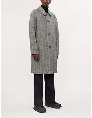 Maison Margiela Herringbone wool coat