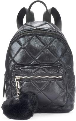 Candies Candie's Quilted Metallic Mini Backpack