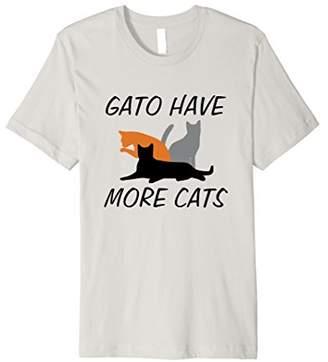 Gato Have More Cats Spanish Pun T-Shirt