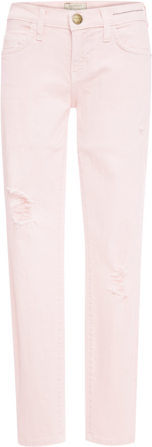 Current/Elliott The Stiletto Distressed Jeans