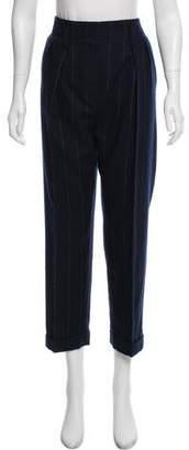 Lanvin Winter 2015 Pinstripe Pants