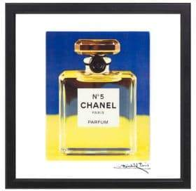 Chanel Luxe West Sun and Sky No 5 Print