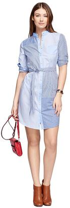 Cotton Poplin Shirt Dress $98 thestylecure.com
