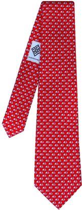 Sartesori Formentera Tie Dark Red