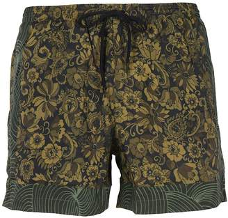 Dries Van Noten Flower Swim Shorts