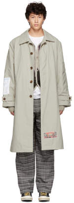 Martine Rose Beige Car Coat