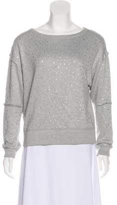 Alice + Olivia Embellished Oversize Sweatshirt